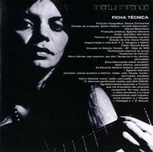Marlui Miranda - Olho d'Água - Encarte 01
