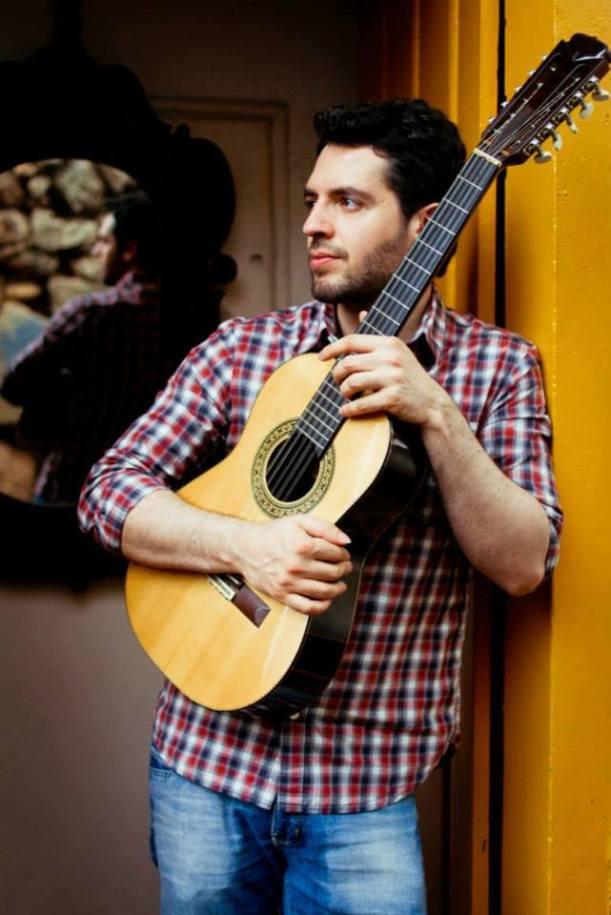 Imagem que fará parte do novo álbum de Wilson Teixeira, Casa Aberta, que ele pretende lançar em março de 2015 (Foto: Rita Araújo)