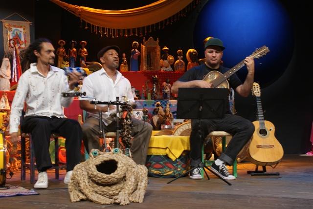 Quarteto de gaitas e Doroty Marques gravam com Rolando Boldrin programas para o Sr. Brasil (5/5)