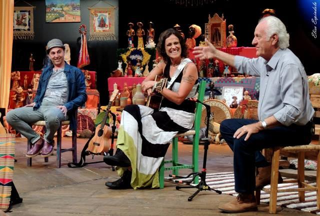 Zeca Baleiro e Zélia Duncan cantam no Sr.Brasil e, no final de outubro, em Maceió (AL) (1/2)