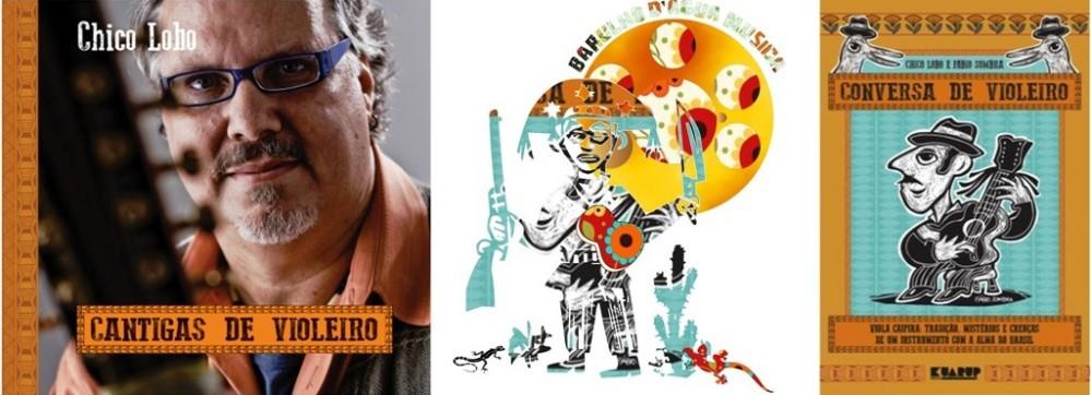 Chico Lobo (MG) lança álbum e livro que conta causos e histórias sobre a viola caipira, em Sampa (1/2)